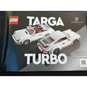 Instrukcja Lego targa turbo Porsche 912