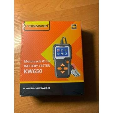 KONNWEI KW650 Tester Baterii Akumulatorów Miernik