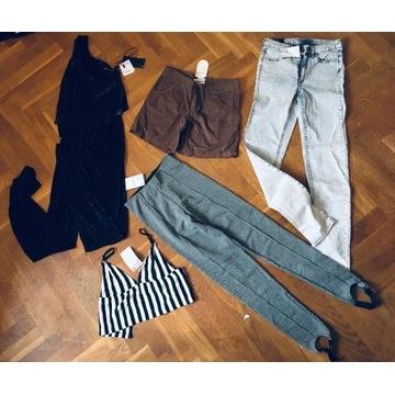 torba ubrań NOWYCH Zara H&M Bershka S XS