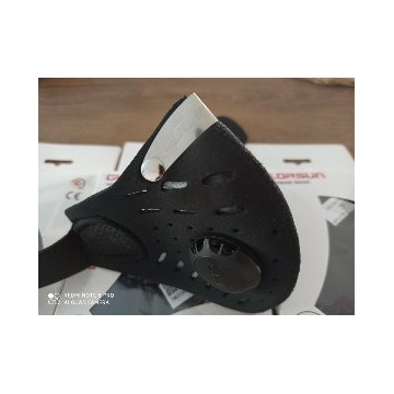 Maska antysmogowa,neoprenowa,filtr x 2 FFP KN
