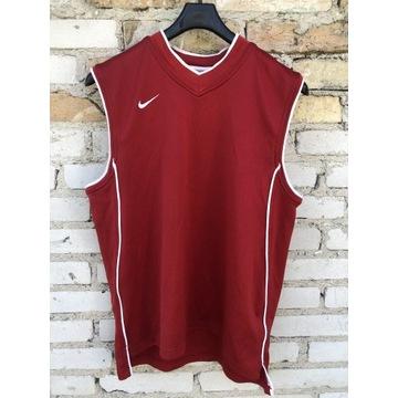 Bluzka sportowa nike czerwona
