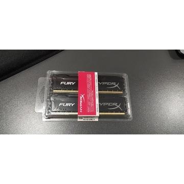HyperX Fury Black 16GB [2x8GB 1866MHz DDR3 CL10