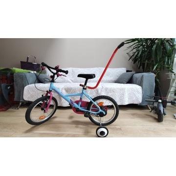"Rower dla dzieci 16"" Decathlon"