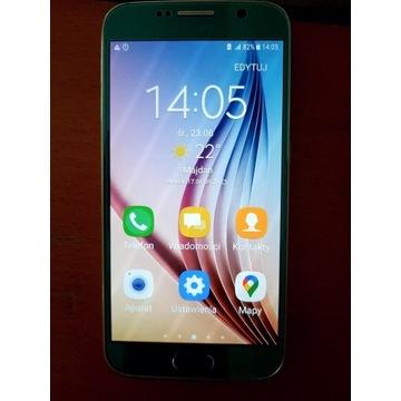 Idealny Samsung Galaxy S6 3GB/32GB srebrny błękit