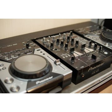 Pioneer 2 x cdj 400 + djm 400 + case
