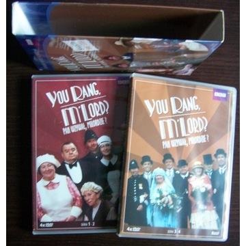 Pan wzywał, Milordzie? 4 sezony całość DVD pudełko