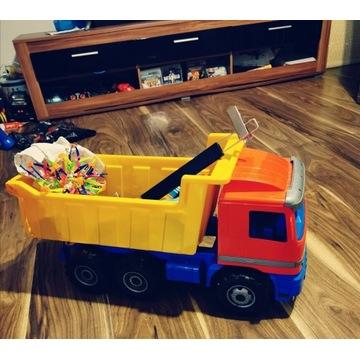 Samochód wywrotka zabawka duża 2 sztuki