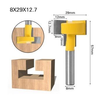 Frez do wykonywania wsuwek typu T 8x29x12,7  8mm