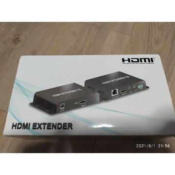 HDMI extender 4K RJ45 120m IR 3szt.