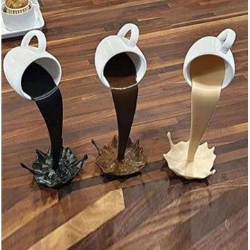 kubek ozdoba kawiarni, ekspres do kawy dekoracja