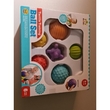 Zestaw piłeczki piłki sensoryczne Lean Toys