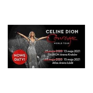 2x bilet koncert Celin Dion Łódź
