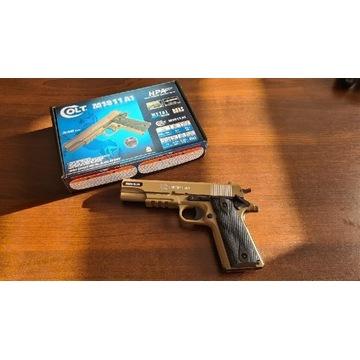 Pistolet ASG Cybergun Colt 1911A1 HPA Metal Slide