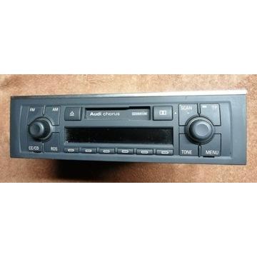 Radiomagnetofon Chorus 2 Audi A4 B6 B7+ kod