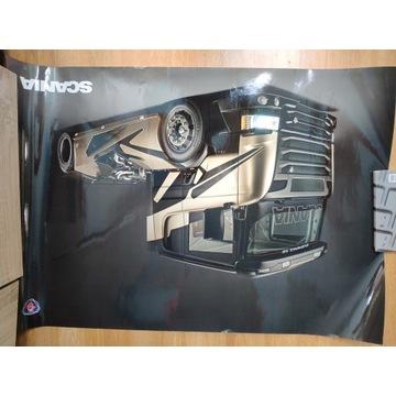Scania V8 Plakat