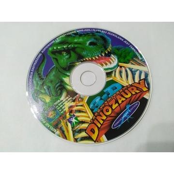3D Trójwymiarowe Dinozaury PC program / gra PL