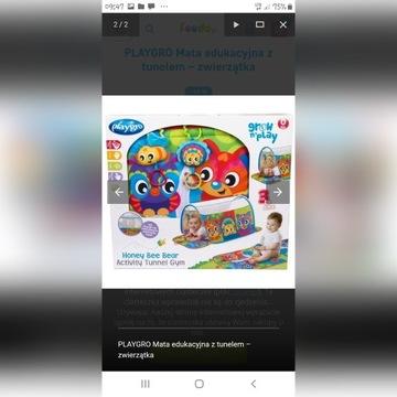 Tunel Play gro mata edukacyjna