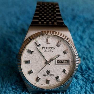 Citizen DATEJUST Crystron CQ Piękny Vintage