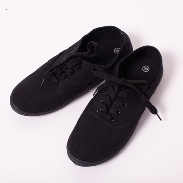 Buty trampki tenisówki 37 czarne