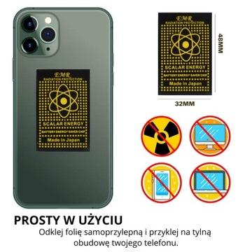 Odpromiennik Antyradiator Chip 3G/4G/5G na telefon