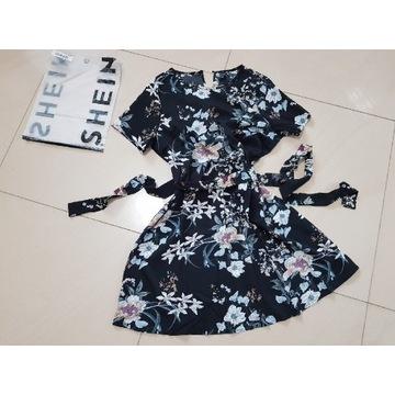 SHEIN sukienka w kwiaty XL