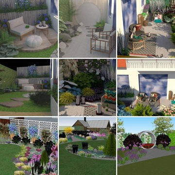 Projekt ogrodu, balkonu, tarasu