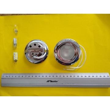 Oprawa sufitowa meblowa punktowa G4 12V CHROM