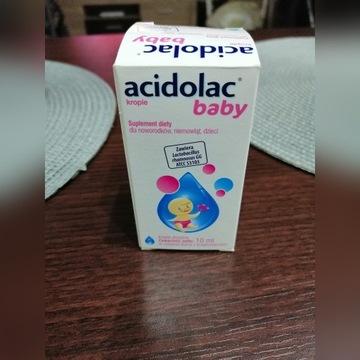 ACIDOLAC BABY Krople 10ml PROBIOTYK DLA NOWORODKÓW