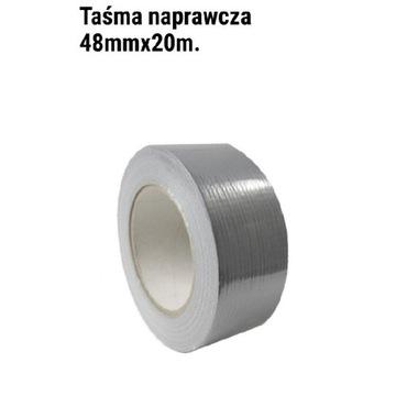 Taśma naprawcza srebrna 48MM×20M