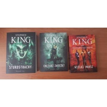 Stephen King Cmętarz Zwierząt Wielki Marsz Stukost