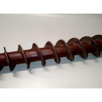 Szneki rury spiralne wiercenie na sucho fi120