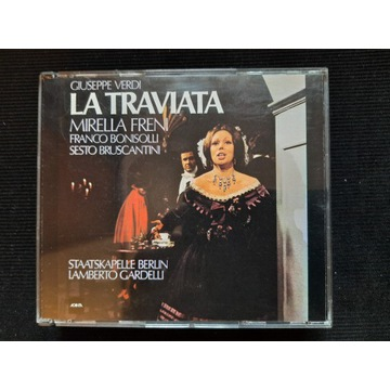 VERDI La Traviata Gardelli Freni Accanta Unikat