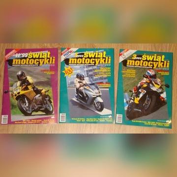 Motocykle Świata dla fanów kpl.3 numerów 1999/2000