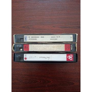 3 kasety vhs