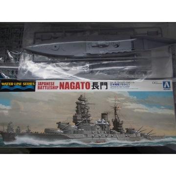 1/700 Pancernik Nagato/ Aoshima