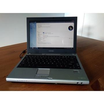 Toshiba U200 CoreT5600 1,5GB RAM 250 GB b.sys