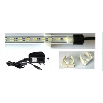 PODWÓJNA Lampa LED akwarium 90cm 8520