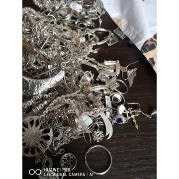 Wyroby ze srebra 925 nowe i używane 727gr