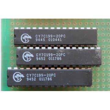 CY7C199-20PC  32k x 8-Bit 20ns CMOS SRAM 256k