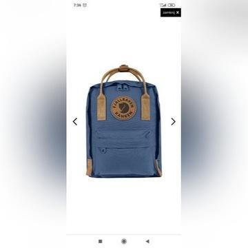 Kanken Mini no 2 plecak mały niebieski