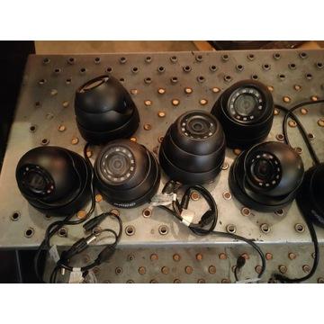Kamery kolorowe z IR + dysk 2 TB + dekoder Alhula