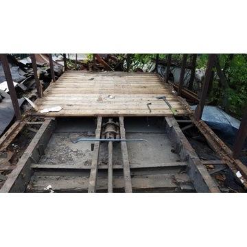 most przeprawa konstrukcja mostu rama wagonu kolej