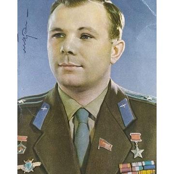 Sprzedam Oryginalny autograf Jurij Gagarin