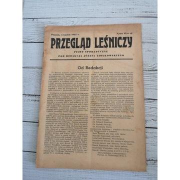 Przegląd Leśniczy 1945 r. Wrzesień