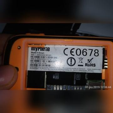 myPhone Hammer H-Smart, używany, komplet, pudełko