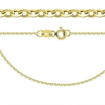 Złoty łańcuszek ankier PRÓBA 585 długość 45cm