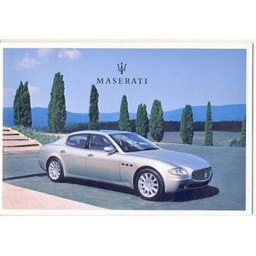 Prospekt Maserati
