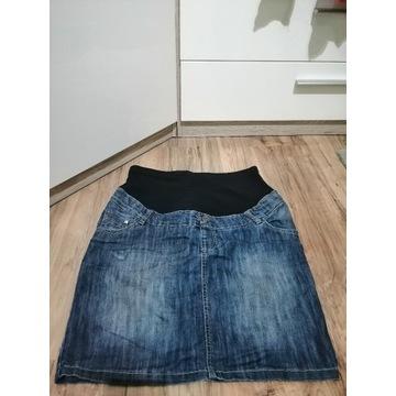 Spódniczka ciążowa jeans 44