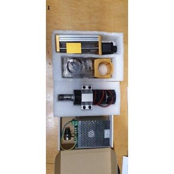 frezarka CNC 3018 + wrzeciono 500W i metalowa oś Z