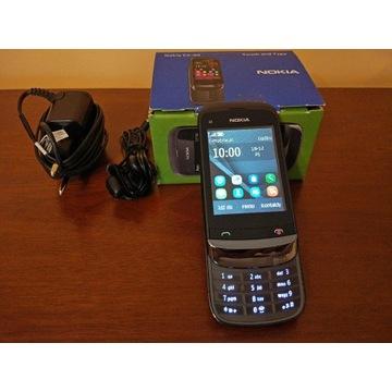 Telefon Nokia C2-02 dotykowy ekran, czarny